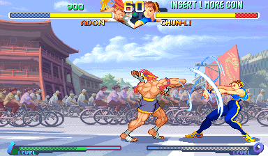 Street Fighter Alpha 2 (Euro 960229) Screenshot