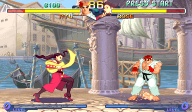 Street Fighter Alpha 2 (USA 960306) Screenshot