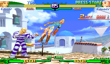 Street Fighter Alpha 3 (Brazil 980629) Screenshot