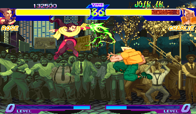 Street Fighter Alpha: Warriors' Dreams (Euro 950605) Screenshot