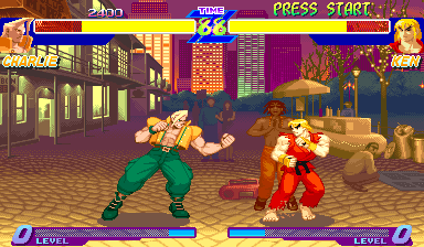 Street Fighter Alpha: Warriors' Dreams (USA 950627) Screenshot