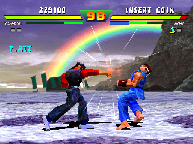 Street Fighter EX Plus (Japan 970407) Screenshot