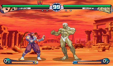 Street Fighter III 2nd Impact: Giant Attack (Asia 970930, NO CD) Screenshot