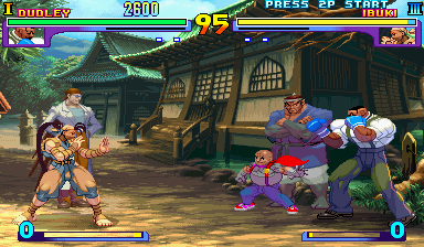 Street Fighter III: New Generation (Asia 970204, NO CD, bios set 1) Screenshot