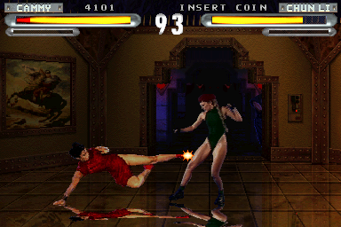 Street Fighter: The Movie (v1.12N, Japan) Screenshot