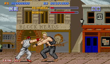 Street Fighter (US, set 2) (protected) Screenshot