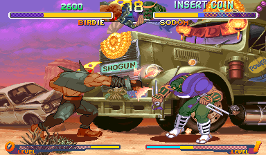 Street Fighter Zero 2 Alpha (Hispanic 960813) Screenshot
