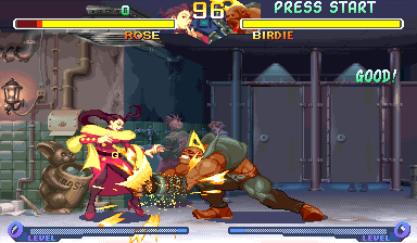 Street Fighter Zero 2 (Brazil 960531) Screenshot