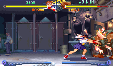 Street Fighter Zero 2 (Brazil 960304) Screenshot