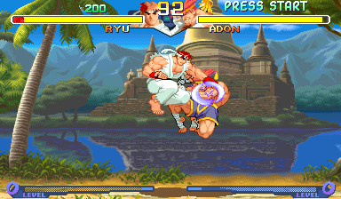 Street Fighter Zero 2 (Oceania 960229) Screenshot