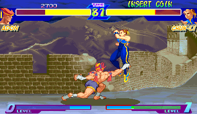Street Fighter Zero (Hiscpanic 950627) Screenshot