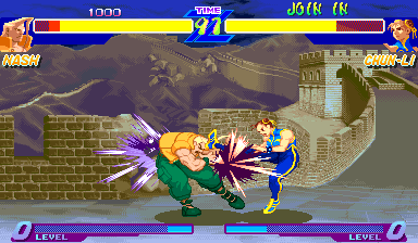 Street Fighter Zero (Japan 950727) Screenshot