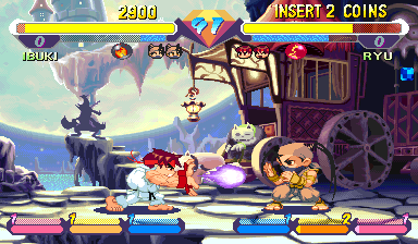 Super Gem Fighter Mini Mix (USA 970904) Screenshot