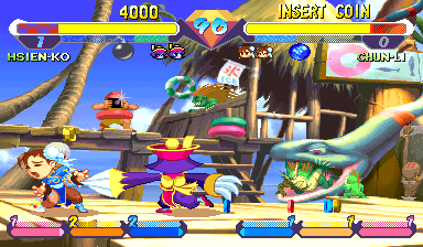 Super Gem Fighter: Mini Mix (Asia 970904) Screenshot