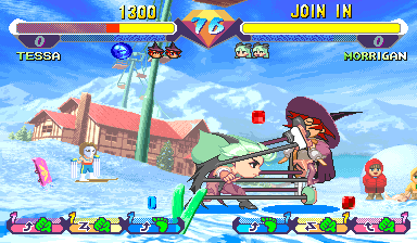 Super Gem Fighter Mini Mix (Hispanic 970904) Screenshot