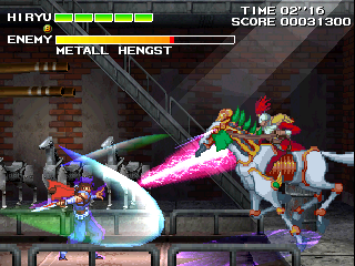 Strider Hiryu 2 (Japan 991213) Screenshot