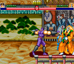 Shogun Warriors (US) Screenshot