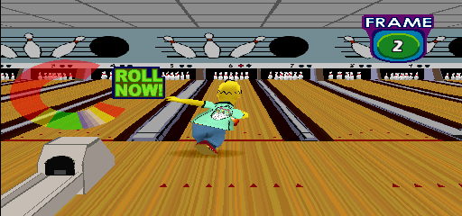 Simpsons Bowling (GQ829 UAA) Screenshot