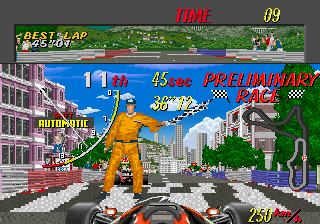 Super Monaco GP (World) (FD1094 317-0126) Screenshot