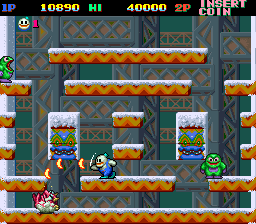 Snow Bros. - Nick & Tom (Dooyong license) Screenshot