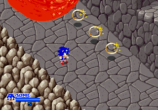 SegaSonic The Hedgehog (Japan, rev. C) Screenshot