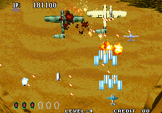 Aero Fighters 3 / Sonic Wings 3 Screenshot