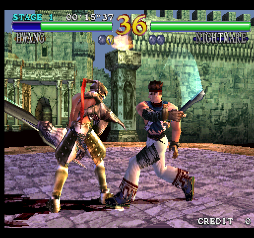 Soul Calibur (World, SOC14/VER.C) Screenshot
