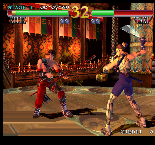 Soul Calibur (Japan, SOC11/VER.B) Screenshot