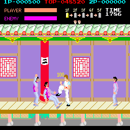 Spartan X (Japan) Screenshot