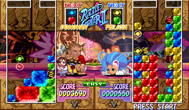 Super Puzzle Fighter II Turbo (Euro 960529) Screenshot