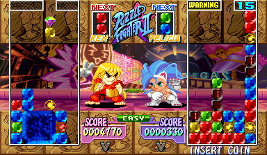 Super Puzzle Fighter II Turbo (Hispanic 960531) Screenshot