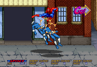 Spider-Man: The Videogame (World) Screenshot