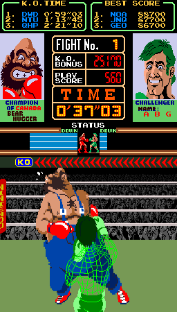 Super Punch-Out!! (Japan) Screenshot