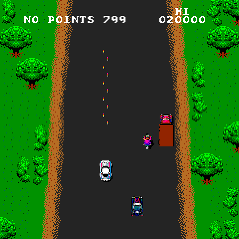 Spy Hunter (Playtronic license) Screenshot