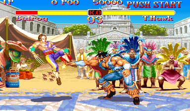 Super Street Fighter II: The New Challengers (Japan 930911) Screenshot