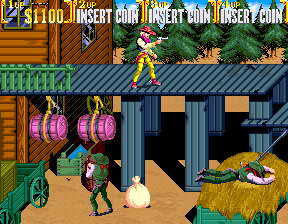 Sunset Riders (4 Players ver EAC) Screenshot