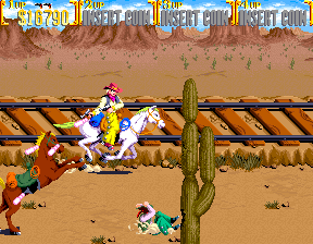 Sunset Riders (4 Players ver ADD) Screenshot
