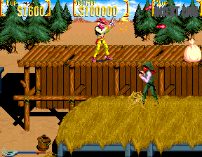 Sunset Riders (2 Players ver EBC) Screenshot