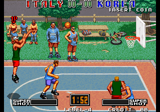 Street Hoop / Street Slam / Dunk Dream Screenshot