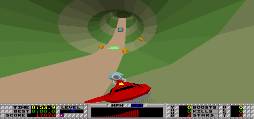 S.T.U.N. Runner (rev 3) Screenshot