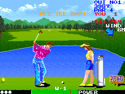 Super Crowns Golf (World) Screenshot
