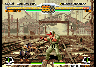 SNK vs. Capcom - SVC Chaos (JAMMA PCB, set 2) Screenshot