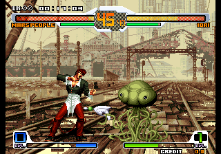 SNK vs. Capcom: SVC Chaos Plus (Bootleg Set 2) Screenshot