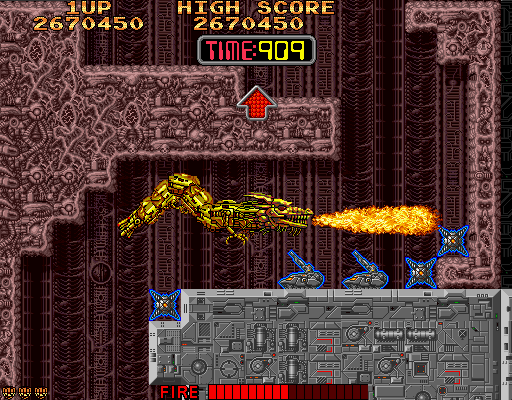 Syvalion (Japan) Screenshot