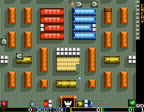Tank Force (US, 4 Players) Screenshot