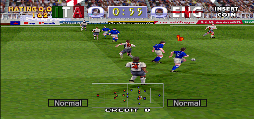 Tecmo World Cup Millennium (Japan) Screenshot