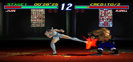Tekken 2 Ver.B (US, TES3/VER.D) Screenshot