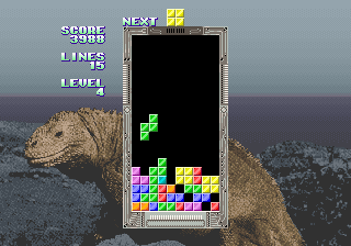 Tetris (bootleg) Screenshot