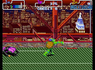 Teenage Mutant Hero Turtles - Turtles in Time (2 Players ver EBA) Screenshot
