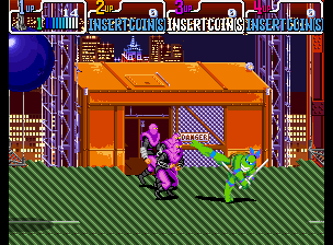 Teenage Mutant Ninja Turtles - Turtles in Time (4 Players ver UAA) Screenshot